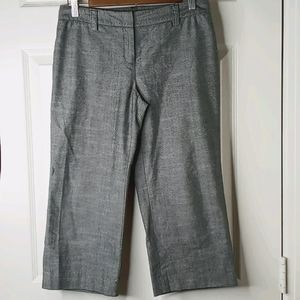 Ann Taylor Cropped Trousers - 0P
